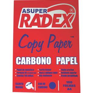 Carbono-Manual-Azul-Papel-A4-Caixa-100-Unidades-Radex